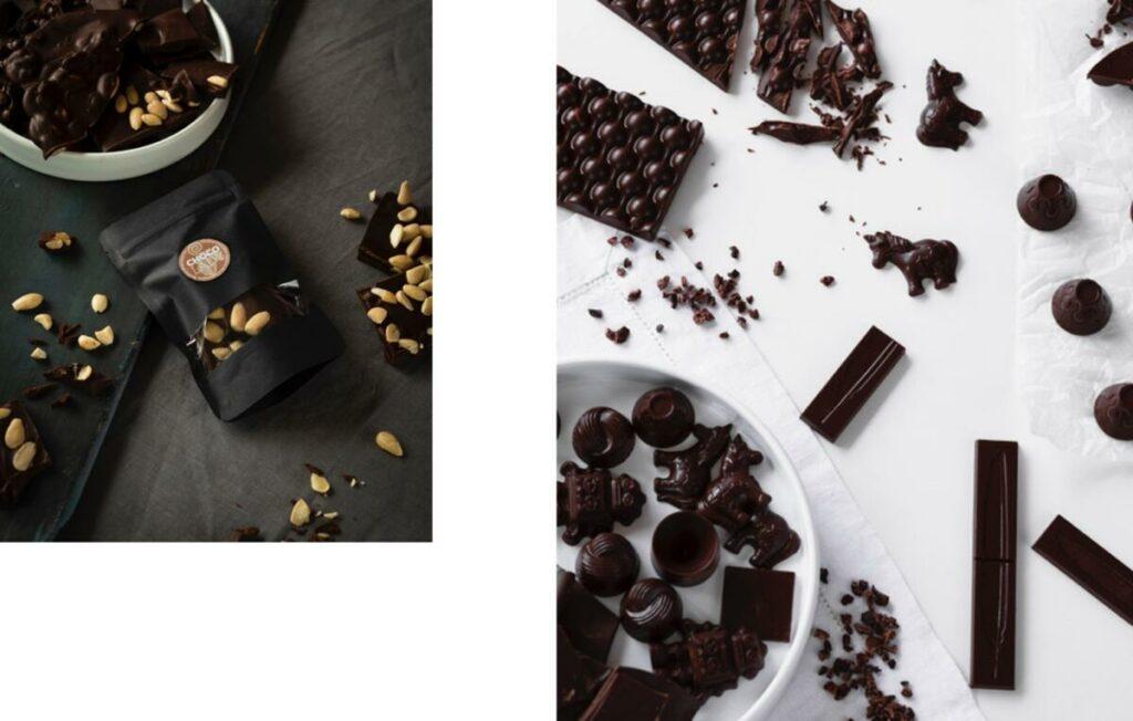 Chocolady - ručně vyráběná čokoláda